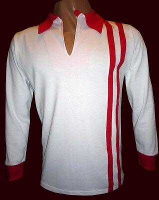 ESTUDIANTES de LA PLATA 1968 - Vintage Away Jersey REPLICA - All Sizes!! image