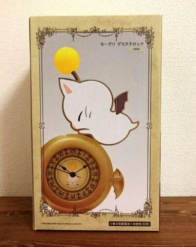 Final Fantasy XIV Moogle desk clock Figure yellow FF XIV FF14 Taito