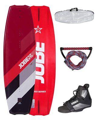 JOBE LOGO 138 Package red + Rope + Bag Wakeboard Set inkl. Bindung