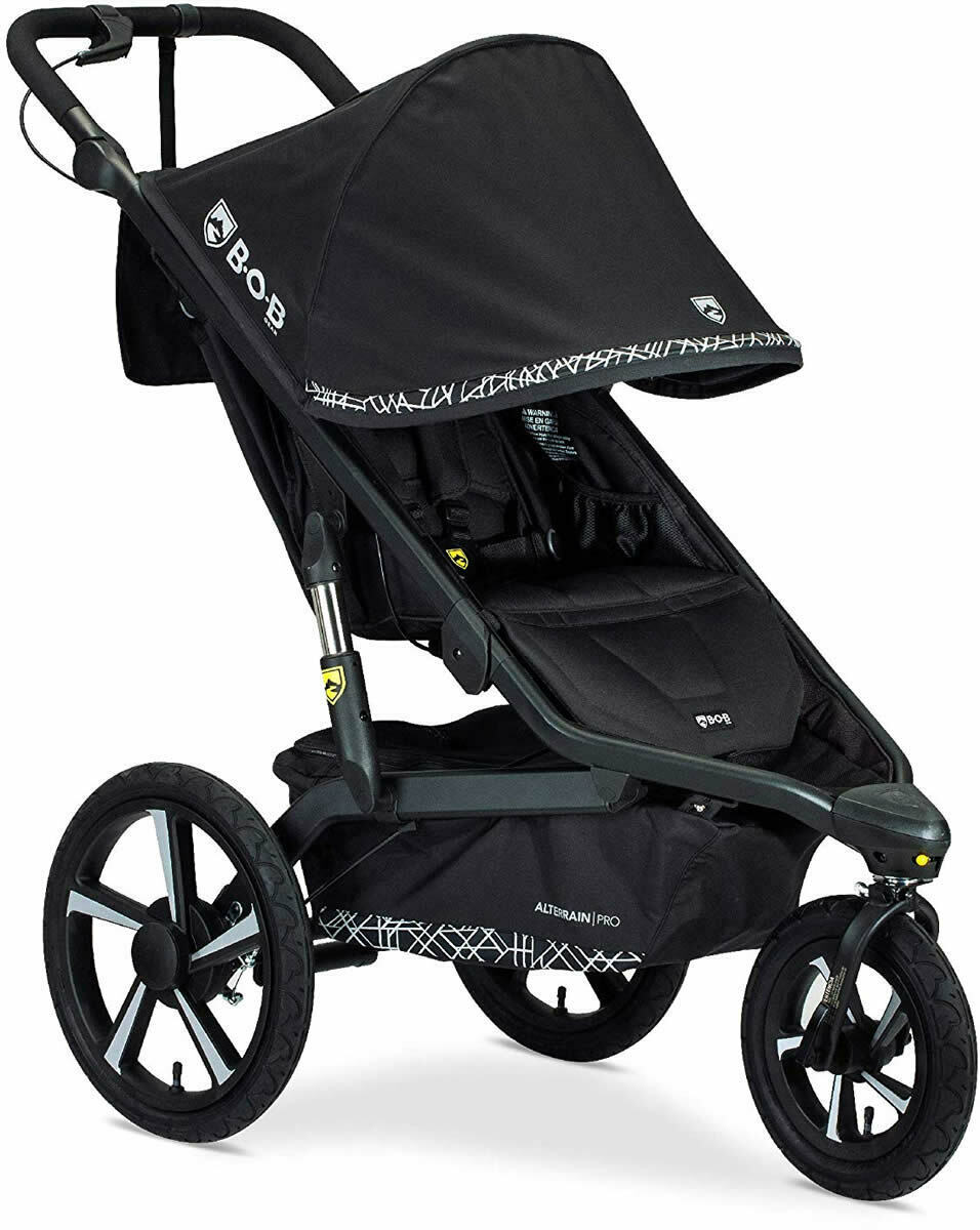 BOB Alterrain Pro Jogging Stroller Swivel Front Wheel Baby J