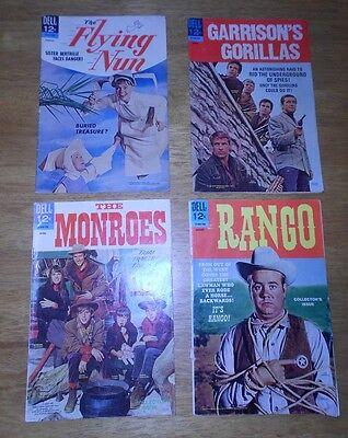 TV 4 BK LOT Flying Nun#3,GARRISON'S GORILLAS#2,Rango#1,THE MONROES#1 Sally Field