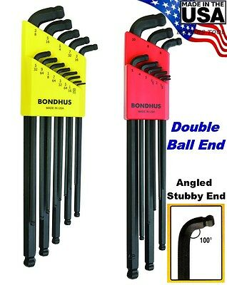 wrench stubby double ball combination