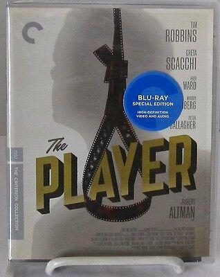 The Player (Blu-Ray Disc Criterion May-2016) Robt. Altman film stars Tim Robbins