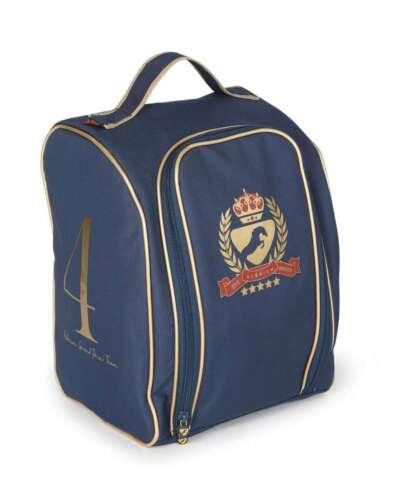 Shires Aubrion Team Navy Helmet Tote Horse Equine Bag Cover #8509