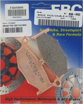 EBC Double-H Sintered Brake Pads - FA419HH