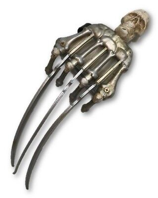 Skeleton Skull Crusher Hand Claw Toy Weapon Adult Halloween Costume - Crusher Halloween Costume