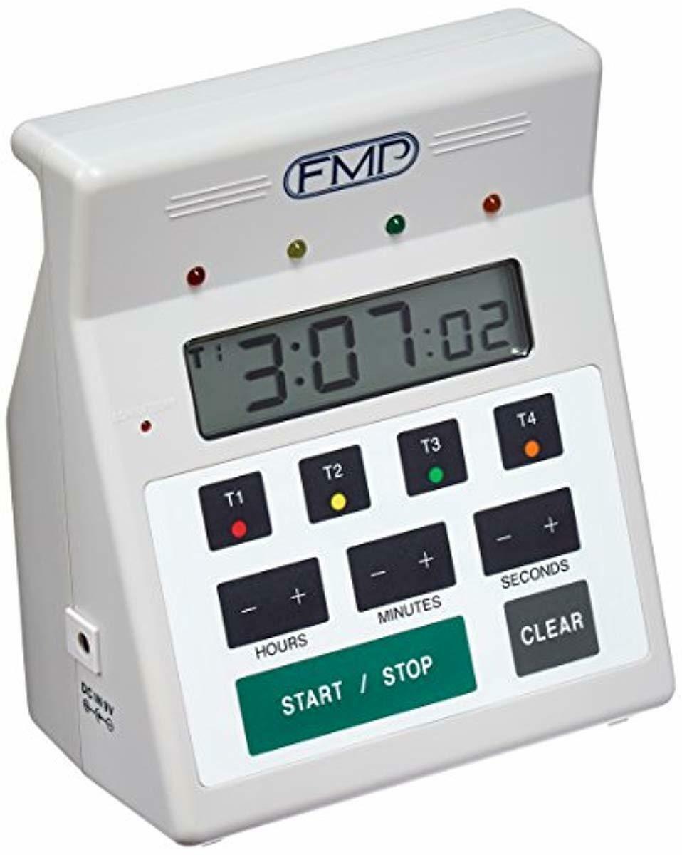 FMP 151-7500 Digital 4 -Channel Commercial Kitchen Countdown
