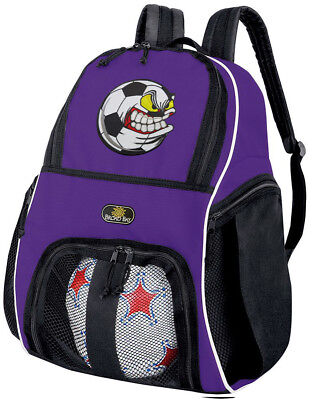 3b6389031bd Soccer Ball Bags SOCCER BACKPACK Purple BAG