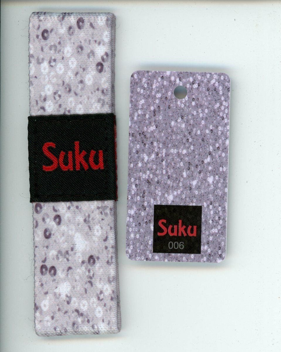 SUKU Wristband SHINE BRIGHT Strap with Keyring Card Reversib