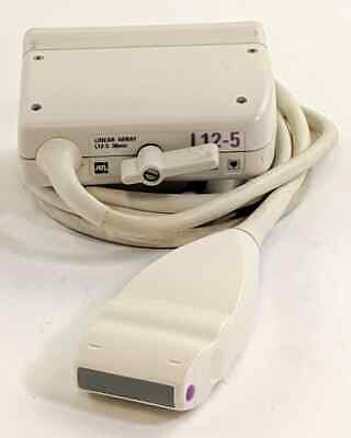 Philips L12-5 Linear Array 38mm Ultrasound Transducer Probe