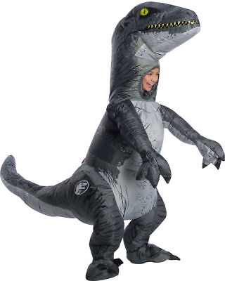 d Velociraptor Aufblasbar Kinder Halloween Kostüm 641045 (Velociraptor Kostüme)
