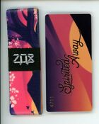 ZOX Silver Strap SPIRITED AWAY Wristband with Card Reversibl
