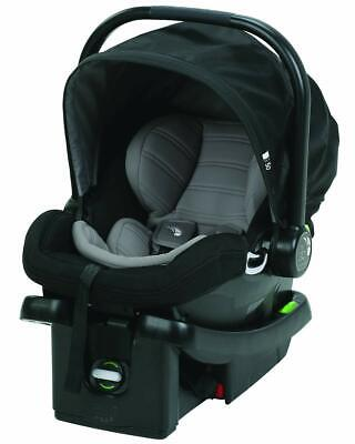 Baby Jogger City Go Infant Baby Car Seat with Base in Black/Gray