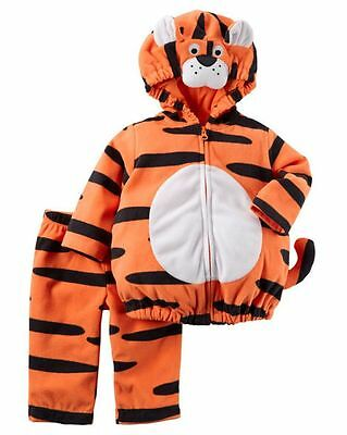 en Tiger Orange Schwarz Plüsch Kostüm 12m Nwt Jungen Mädchen (Mädchen Tiger Halloween-kostüm)