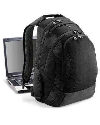Gepolstert Medien (Quadra Laptop Rucksack Gepolsterte Rückseite Medien Tasche Reise Arbeit Smart)