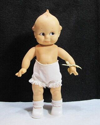 """VTG Effanbee JESCO 1987 12"""" Kewpie Doll Charm with Bracelet"""