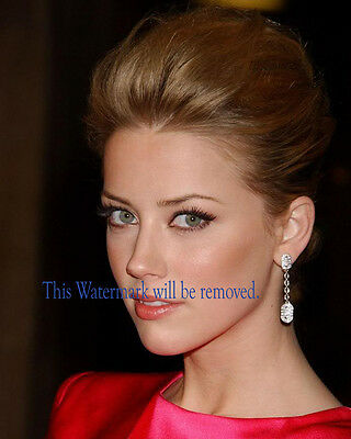 Amber Heard  Hollywood Movie Star  8X10 Glossy Photo Picture Image Ah18