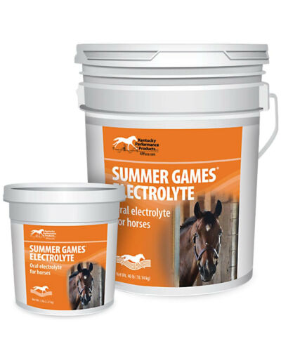 KENTUCKY PERFORMANCE Summer Games Electrolyte for Horses, 40lb