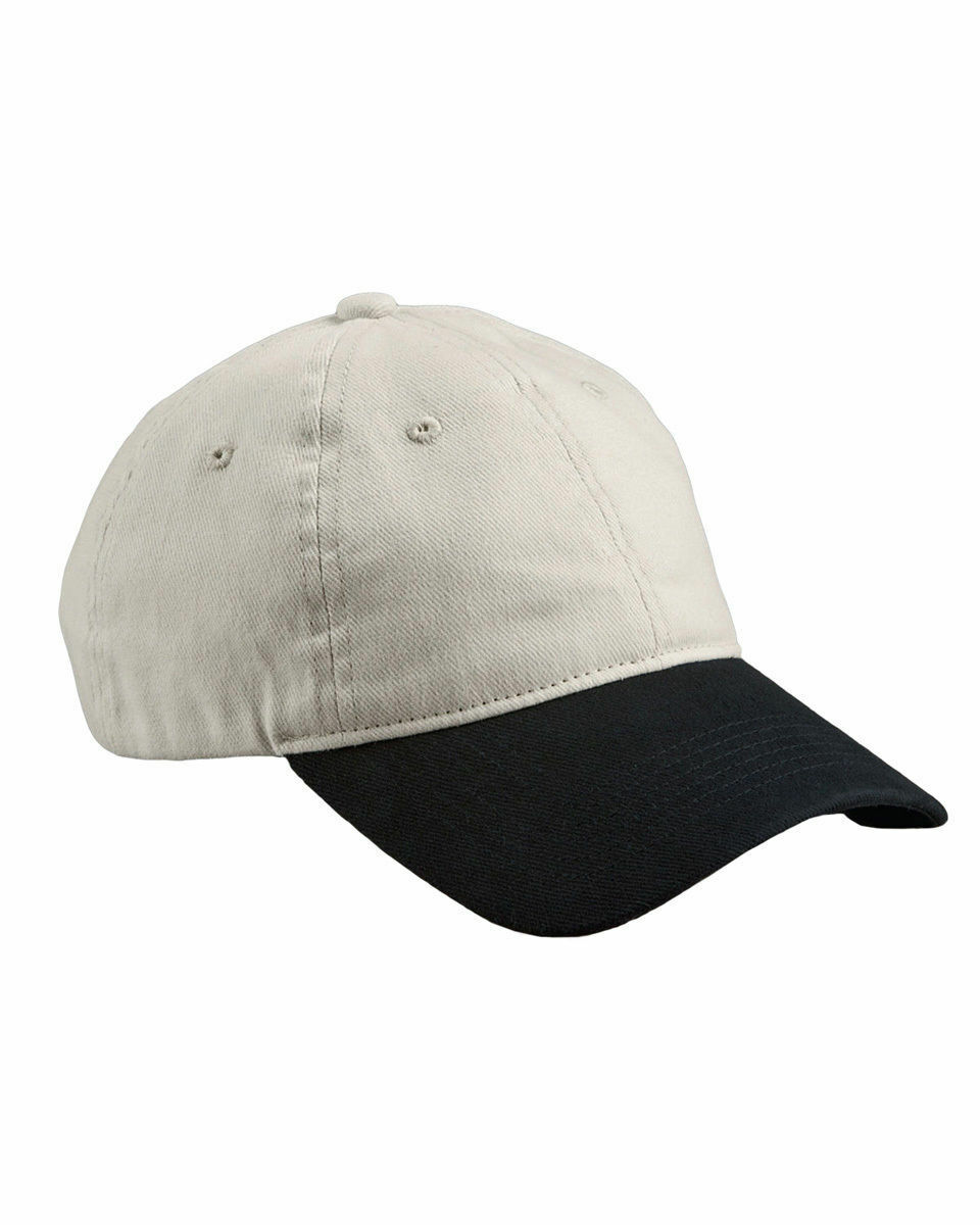 98656944fc0 Big Accessories Brushed 6 Panel Twill D Ring Slider Unstructured Cap. BA511