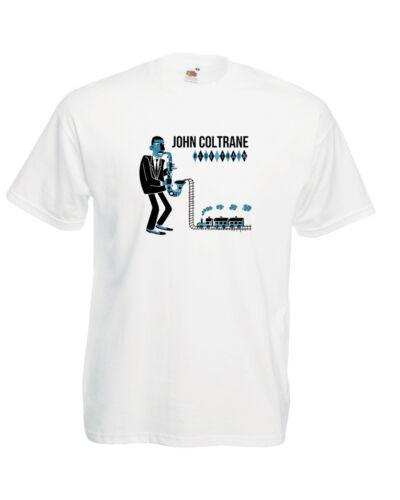 John Coltrane T Shirt Jazz Hard Bop Saxophone Blue Note Atlantic