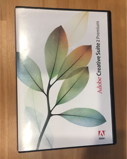 Genuine Adobe Creative Suite CS2 Premium for Maz
