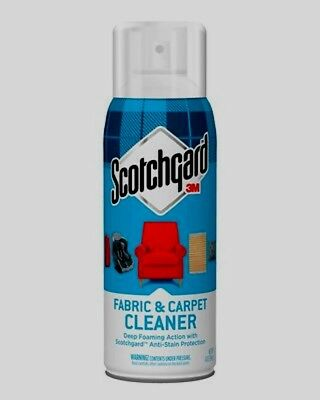 (3M SCOTCHGARD Fabric Carpet Cleaner Upholstery Clothing Stain Protector 14z Foam)