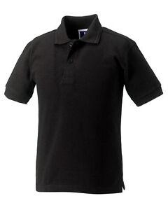 Unisex Kids Boys/Girls  Polo T-Shirt Shirt Tops Children Age 3-14 Years Summer