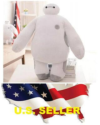 JUMBO 15'' White BIG HERO 6 BAYMAX Plush Stuffed Toy Kids Gift  ❶❶US seller❶❶](Big Hero 6 Baymax)