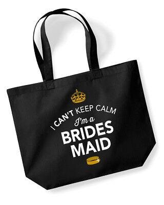 Bridesmaid Gift Idea Wedding Hen Party Bridal Bag Handbag Present Keepsake