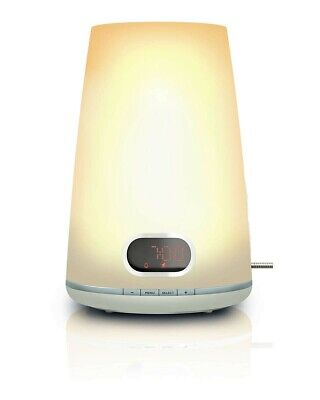 Philips Wake-up Light/Alarm Clock Radio HF3471/60, White
