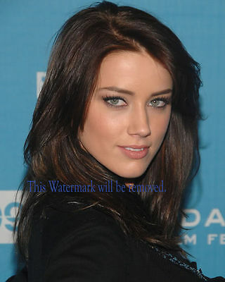 Amber Heard  Hollywood Movie Star  8X10 Glossy Photo Picture Image Ah17