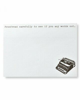 Sticky Notes - Funny Typewriter