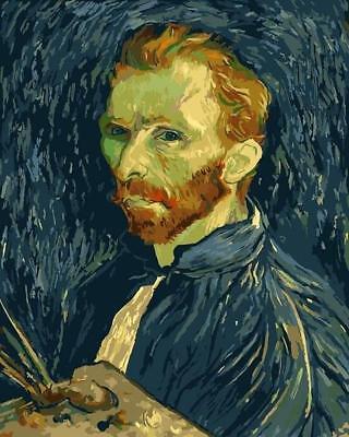 Vincent van Gogh Self-Portrait, 1889 - Van-Go Paint-By-Number Kit