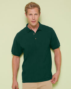 Mens-Gildan-Ultra-Cotton-3800-Pique-Polo-Shirt-Short-Sleeve-t-shirt-Sizes-S-2XL