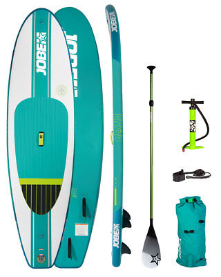 JOBE DESNA 10.0 INFLATABLE PADDLE BOARD PACKAGE SUP PADDLEBOARD WITH PADDLE