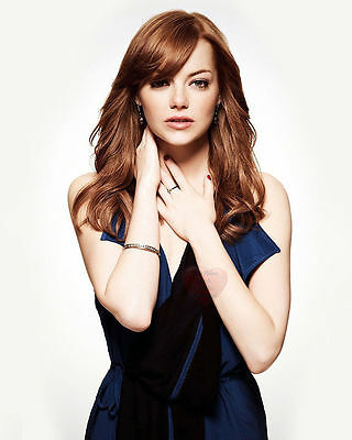 Emma Stone Celebrity Actress 8X10 Glossy Photo Picture Image Es9