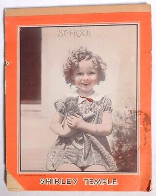 P0292 Vintage: SHIRLEY TEMPLE TABLET Note Pad Western Tablet & Stationary (1935)