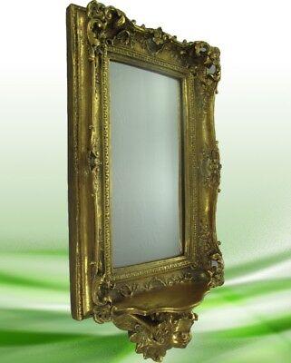 Spiegel Konsole GOLD farbig Vintage Wand Deko das Luxus Weihnachts Geschenk
