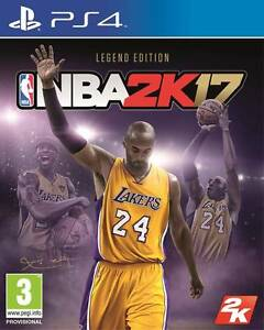 NBA 2k17 Kobe legend edition PS4 Bedford Bayswater Area Preview