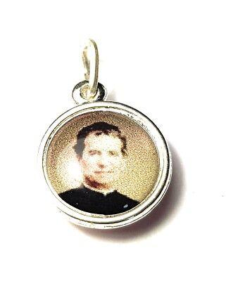 St John Bosco Relic Medaille - Patron von Editors, Publishers, Kinder, Junge Ppl ()