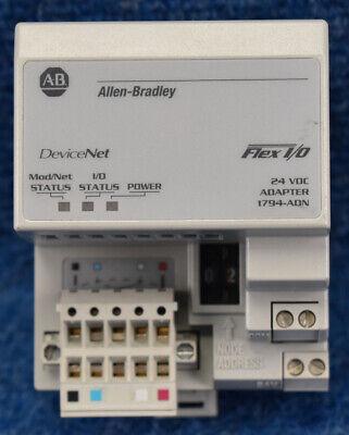 Allen Bradley 1794-adn C 1794adn Flex Io Devicenet 24v Dc Media Adapter