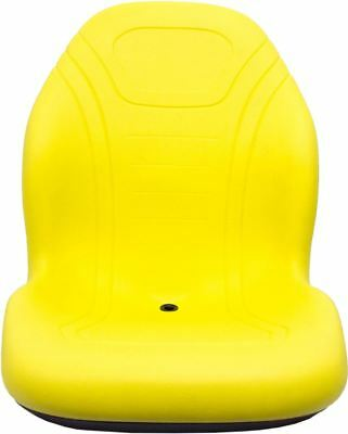 Milsco Xb200 Yellow Seat Fits John Deere Case Toro Etc