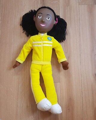 Balamory Plush Doll Soft Toy Josie Jump Plastic Head Yellow Vivid