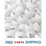 3-Star 40mm Table Tennis Balls, Advanced Training Ping Pong Ball (50-Pack,White)