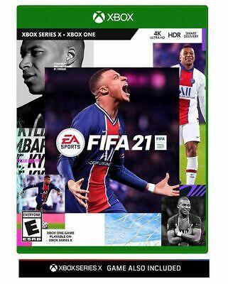 FIFA 21 -- Standard Edition BRAND NEW (Microsoft Xbox One, 2020) Series X