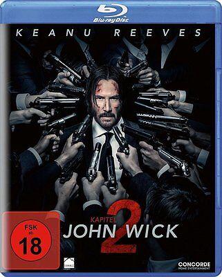 Blu-ray * JOHN WICK : KAPITEL 2 -  Keanu Reeves ~ FSK 18 # NEU OVP $