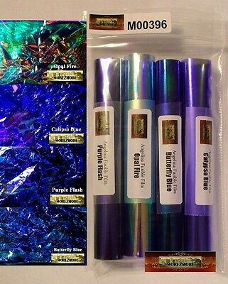 M00396 MOREZMORE Angelina Fantasy Film BLUES 4 Color Sample Pack OOAK T20