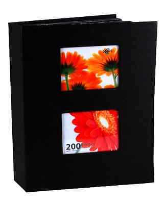"Photo Album Pocket 200 Photos 4x6"" Holder Organizer Trave..."