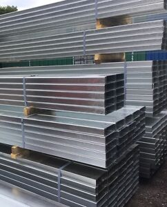 3m Long Galvanised Steel Fence Posts, Fencing Post, Gate Post, Fence Post, Gate