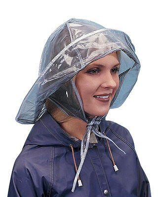 Rain Hat, Clear, One Size Fits All